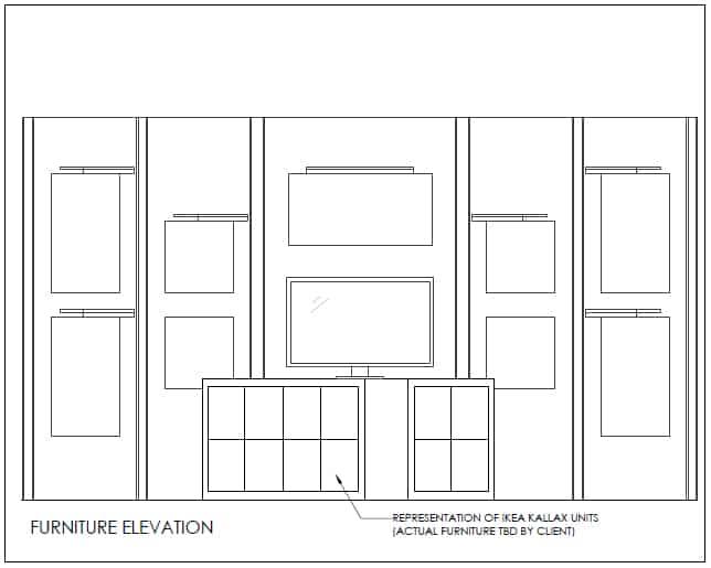 Sightlines Booth Furnture Elevation